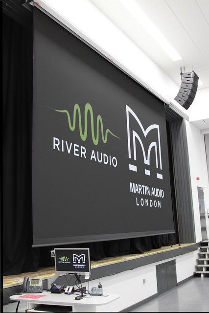 Martin Audio Line Array Install