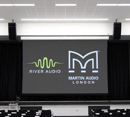 Plymouth University Line Array Sound System