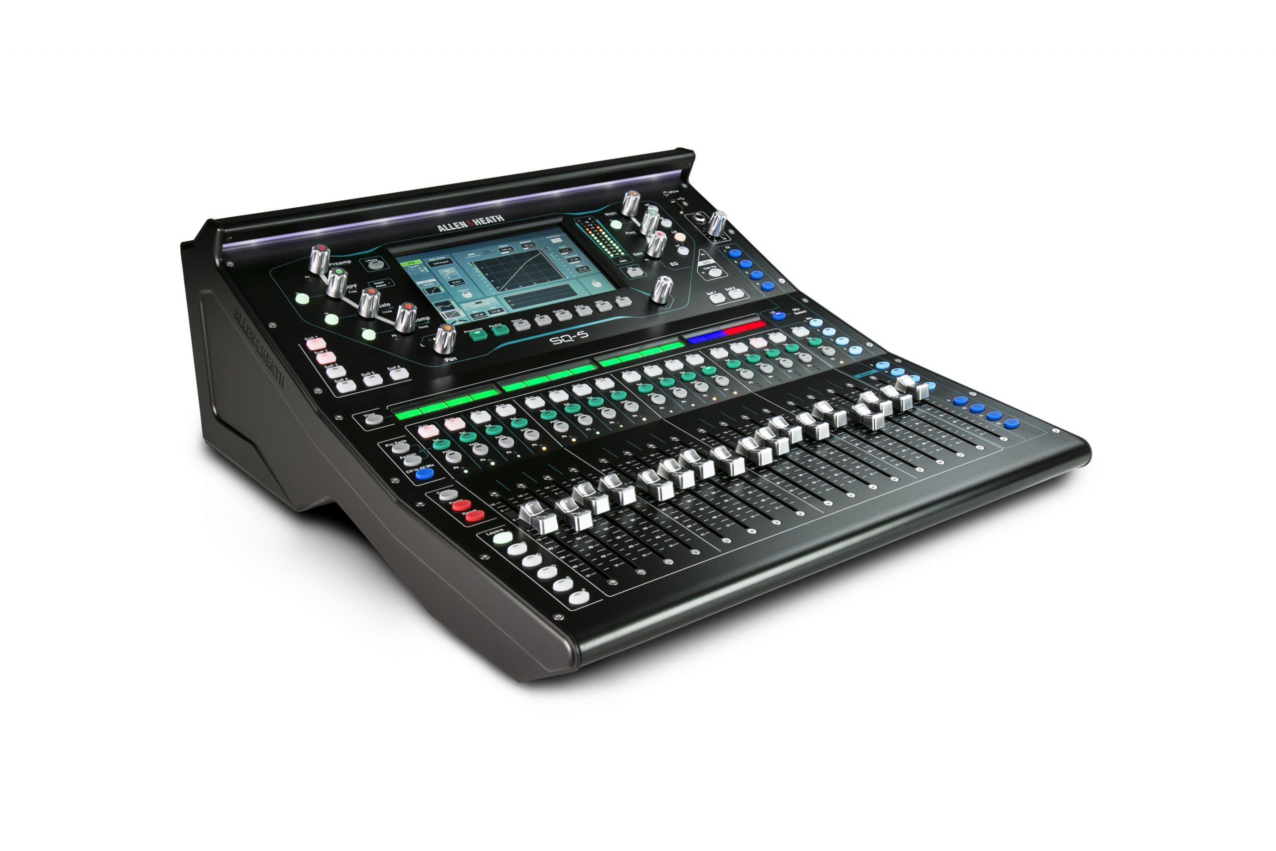 school sound system mixer